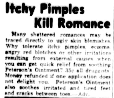 1939 - Itchy Pimples Kill Romance